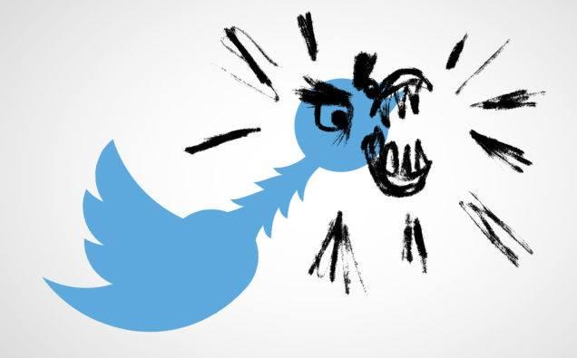 twitter nasilje