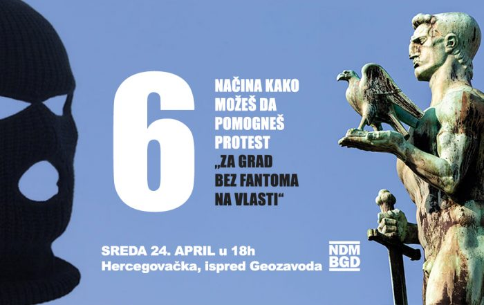PROTEST 24. april