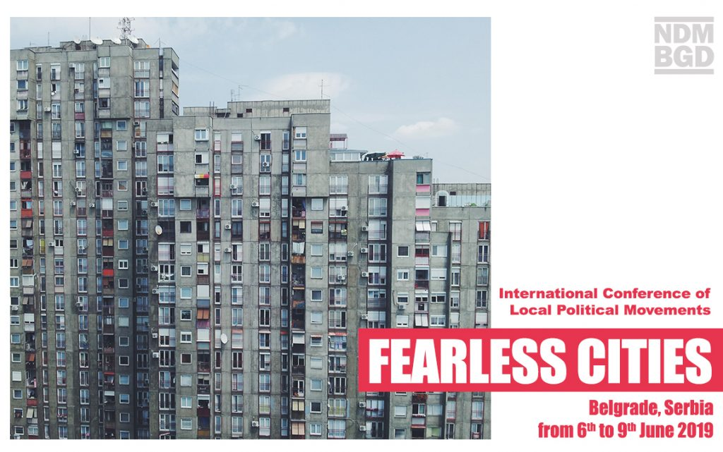 Fearless Cities will be in Belgrade!