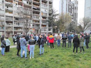 Građani Zemuna na duplom gubitku gube park, a ne dobijaju rešenje za parking
